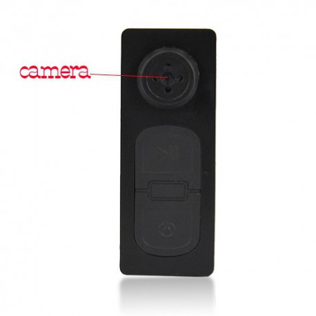 bouton cam ra espion 8go vid o photo micro camera. Black Bedroom Furniture Sets. Home Design Ideas