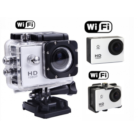 cam ra sport tanche 30m full hd 1080p wifi camera. Black Bedroom Furniture Sets. Home Design Ideas