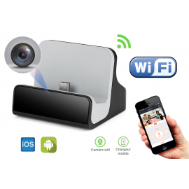 Chargeur caméra espion Wifi pour Android