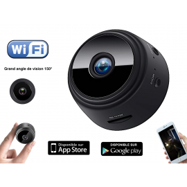 Mini camera espion wifi