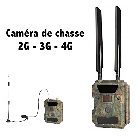 Caméra de chasse GSM SMS MMS EMAIL 4G